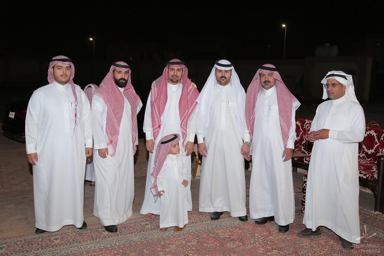 تغطية زواج محمد البازعي الخميس