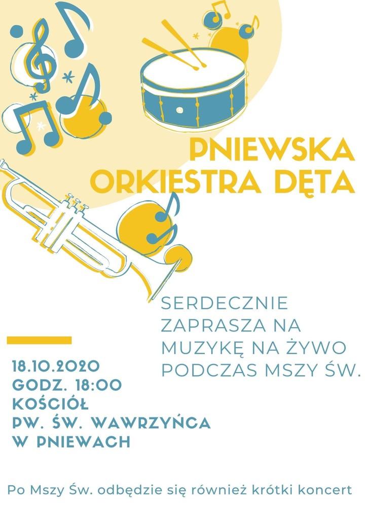 Pniewska Orkiestra Dęta zaprasza