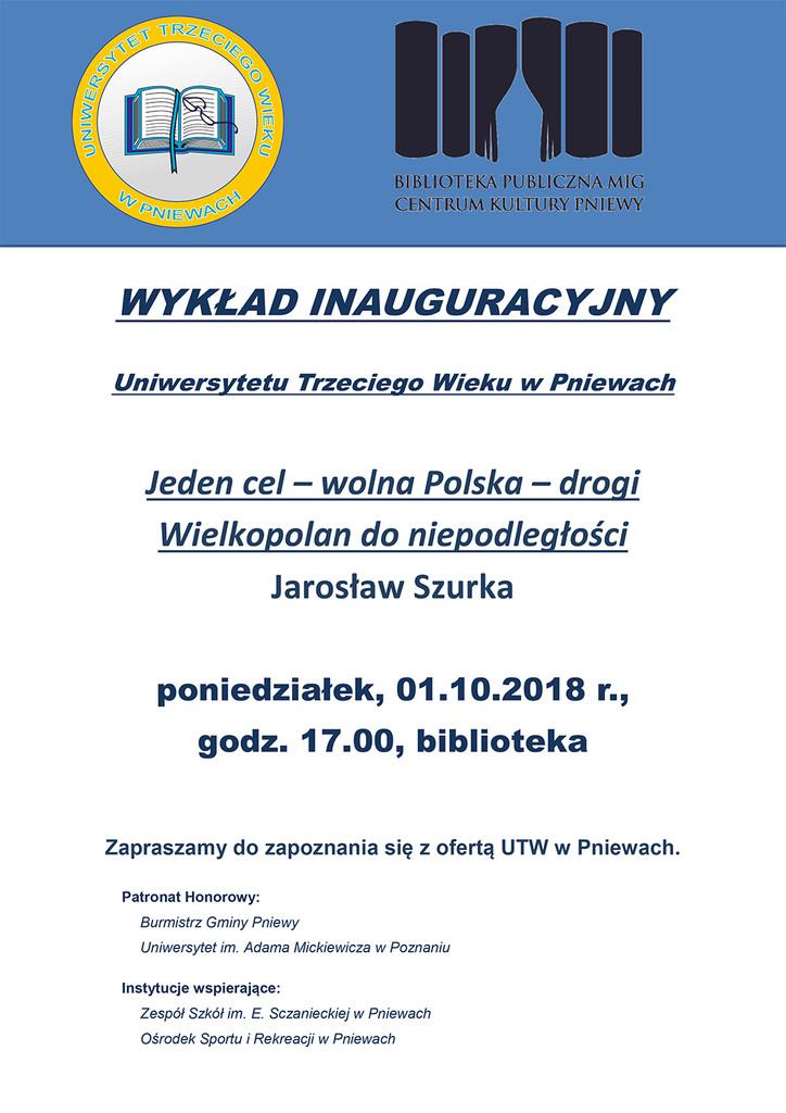 Inauguracja UTW