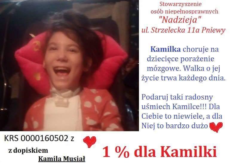 1% dla Kamili Musiał
