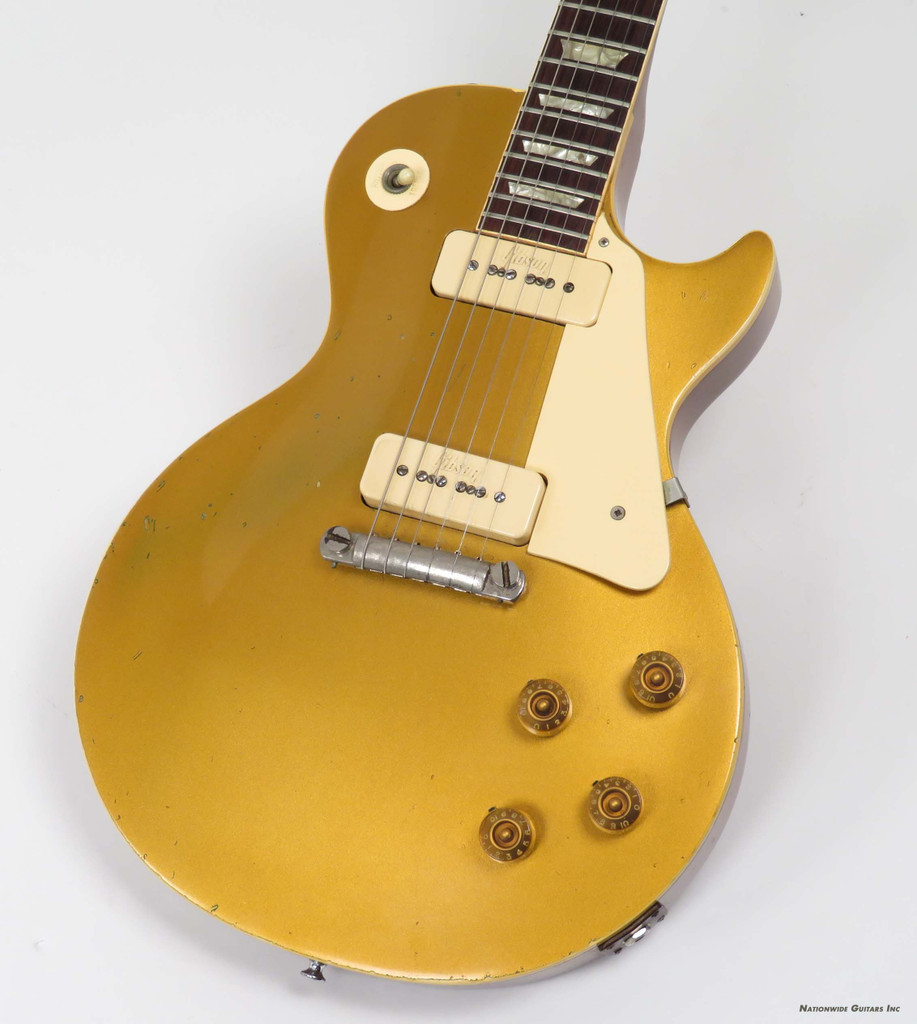 Details about 1971 Gibson Les Paul 58 Reissue Goldtop with Case