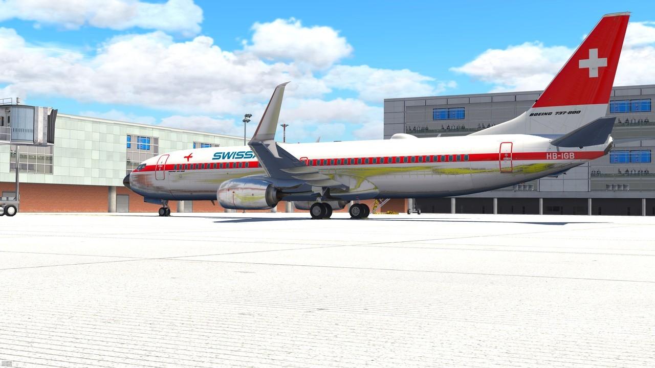 Boeing B738-800 modified (zibo mod) [Archiv] - X-Plane Schweiz