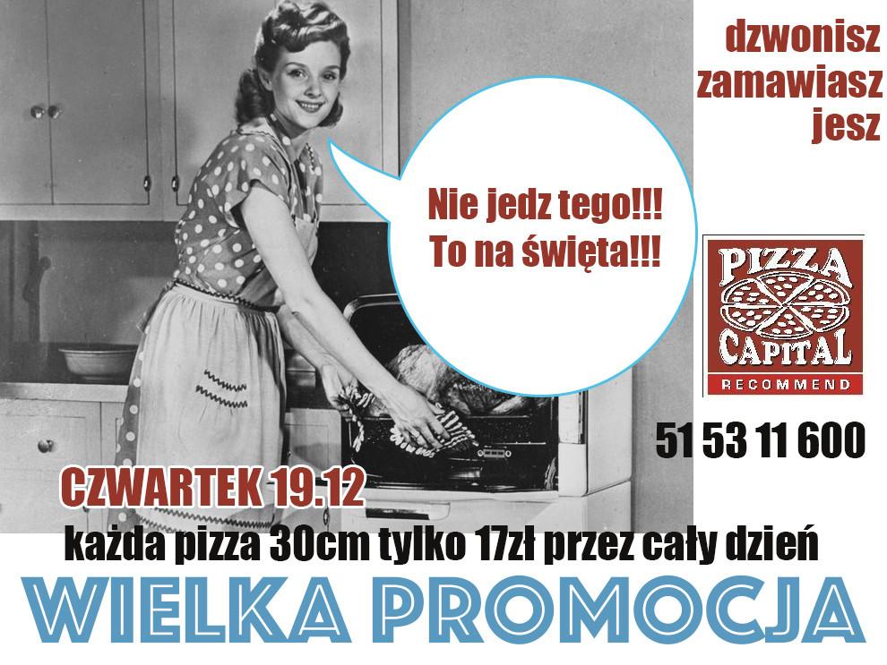 Pizza Capital zaprasza