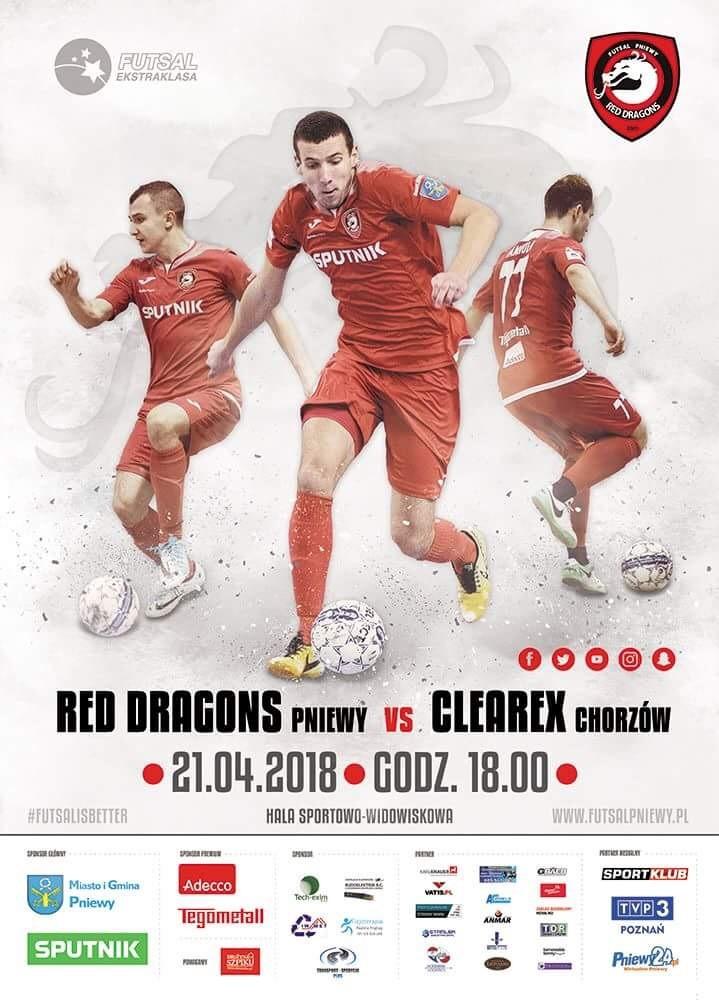 Red Dragons Pniewy – Clearex Chorzów