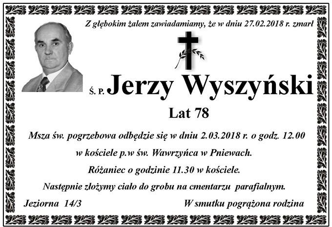 Żyli wśród nas – Jerzy Wyszyński
