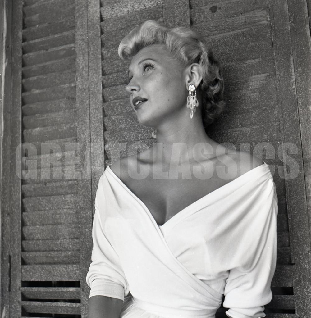 Mari Aldon Summertime 1955 Swimsuit Pinup 2 14 Camera Negative Peter Basch Ebay