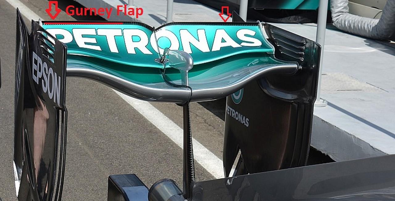 Mercedes AMG F1 Gurney Flap