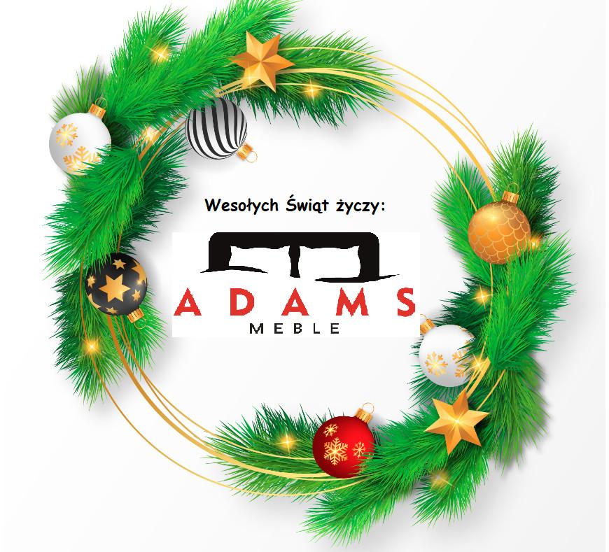 Życzenia Świąteczne odAdams Meble