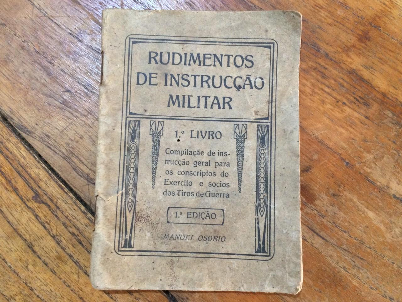 Rudimentos de Instrucção Militar