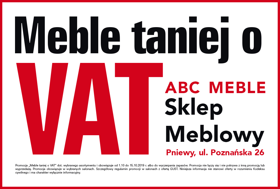 Sklep Meblowy ABC Meble zaprasza