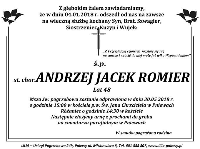 Żyli wśród nas – Andrzej Jacek Romier
