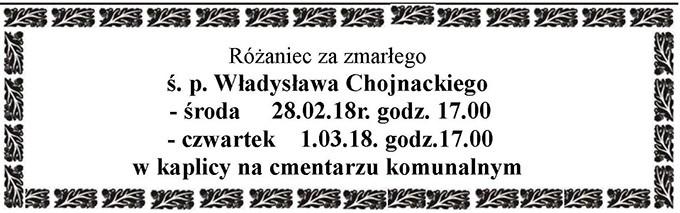 Żyli wśród nas – Władysław Chojnacki