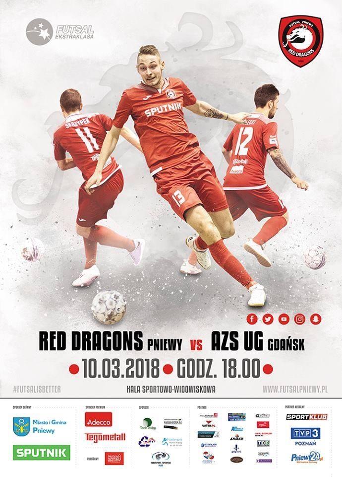 Red Dragons Pniewy – AZS UG Gdańsk