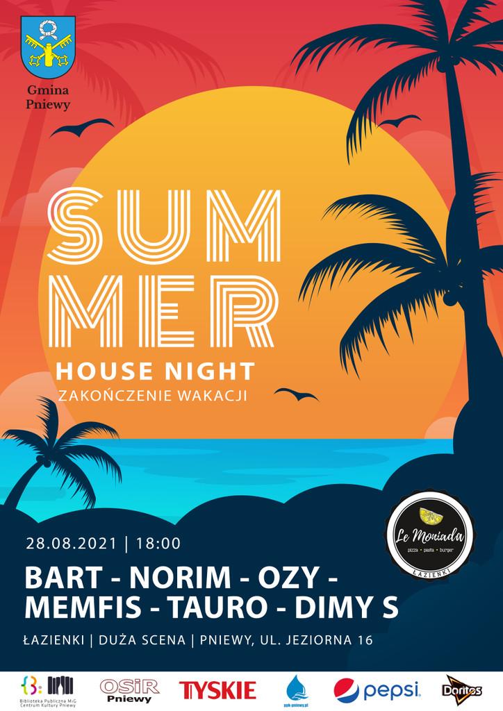 Summer House Night