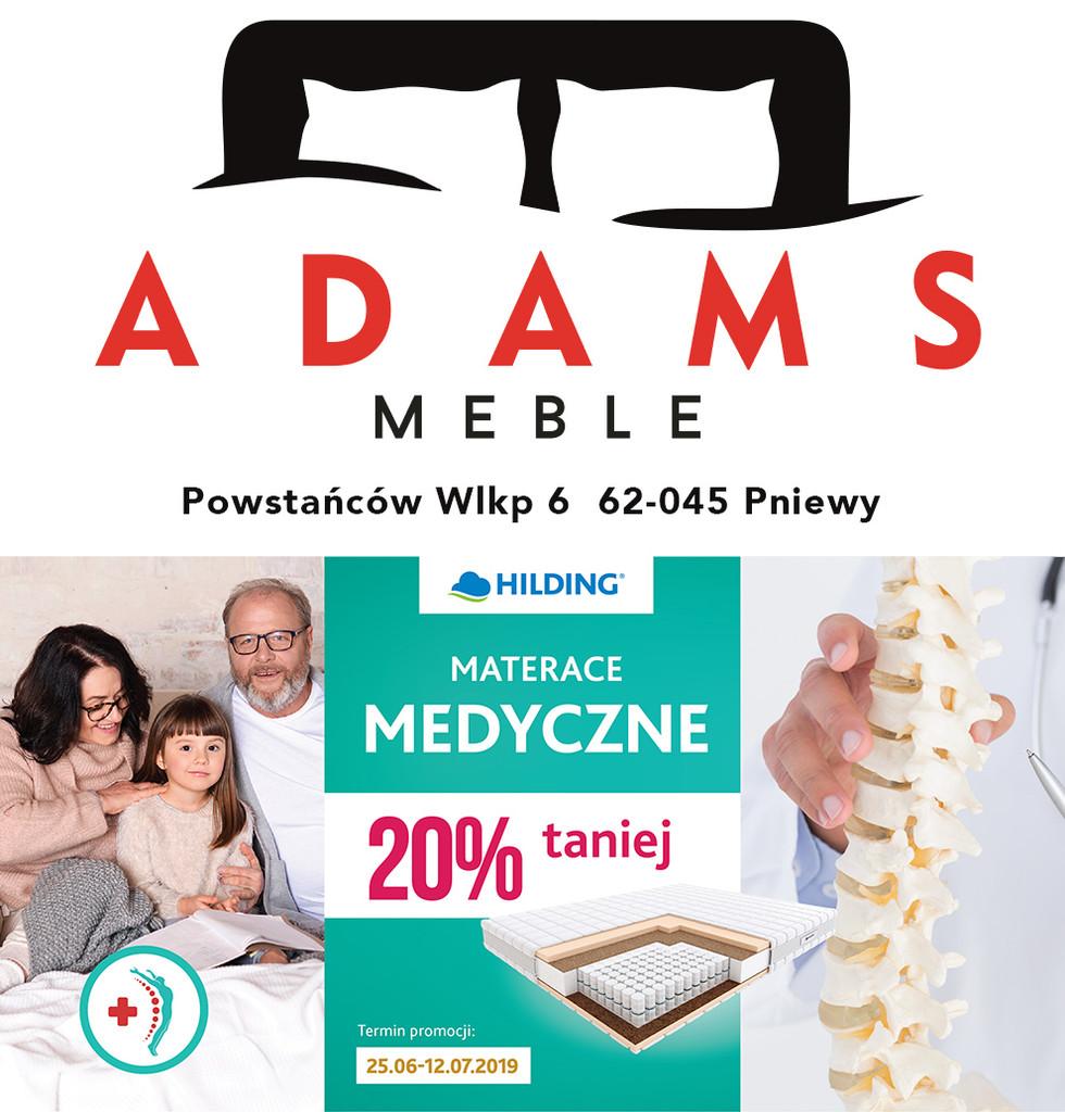 ADAMS meble – promocja namaterace