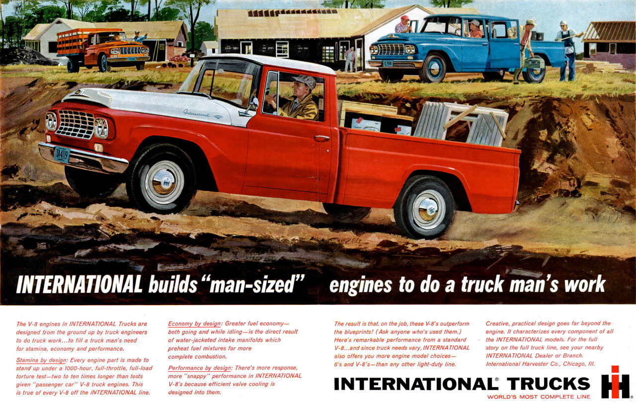 International Trucks builds