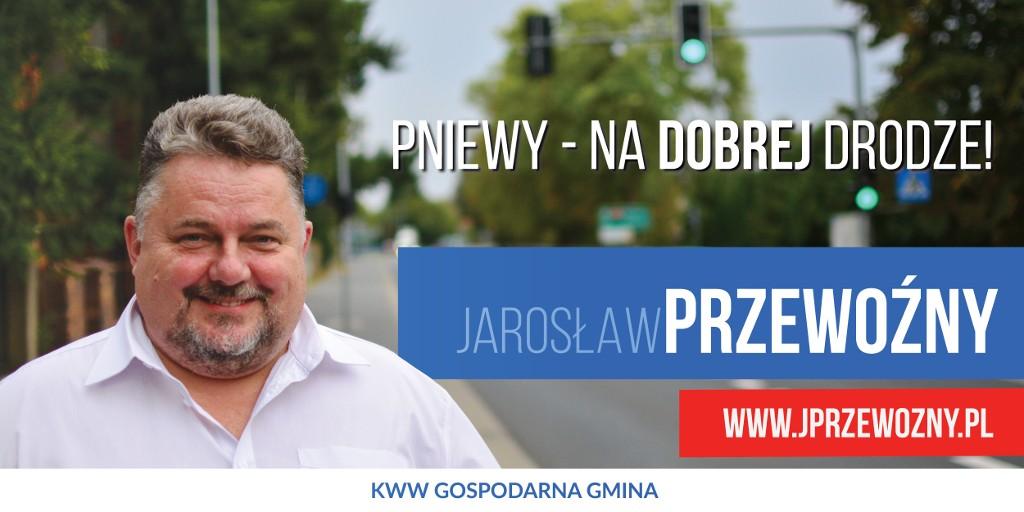 Pniewy nadobrej drodze – Jarosław Przewoźny