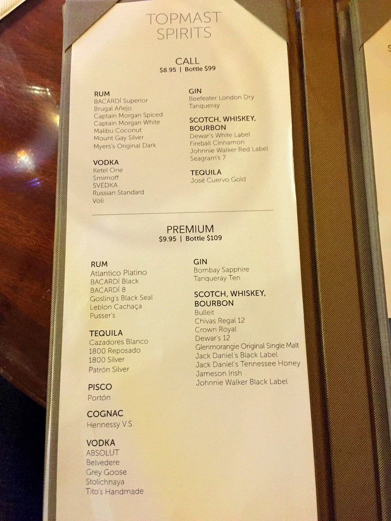 Here Are The Dailies & Drink Menus From Spirit in Europe 2018
