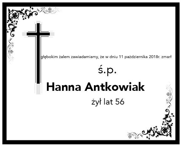 Żyli wśród nas – Hanna Antkowiak