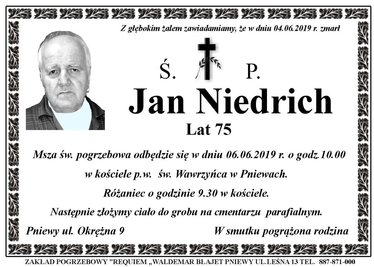 Żyli wśród nas – Jan Niedrich