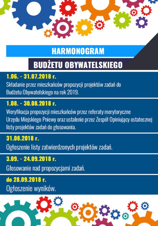 Pniewski Budżet Obywatelski 2018