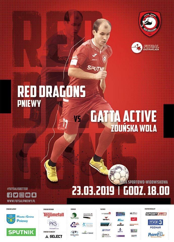 Red Dragons Pniewy – Gatta Zduńska Wola
