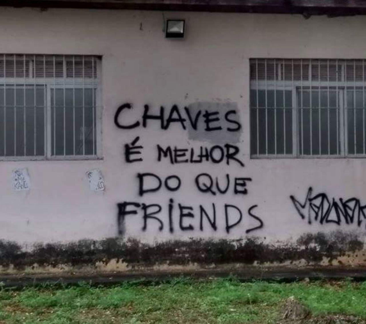 Chaves é melhor do que Friends!