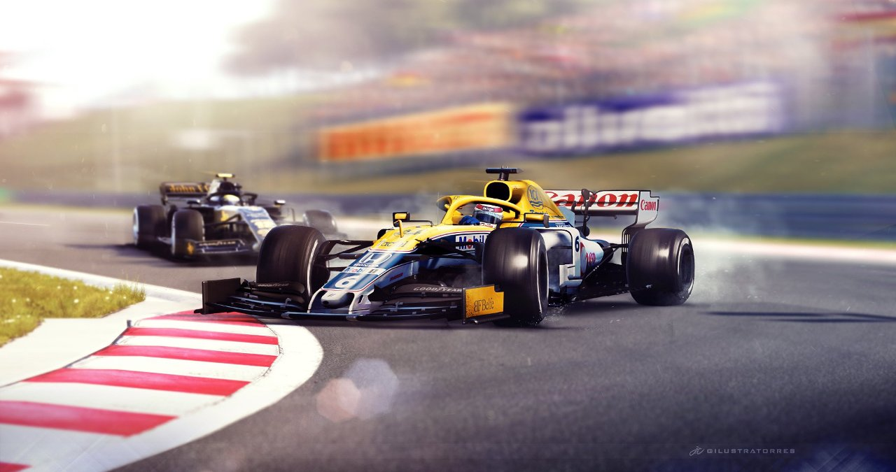 What if Nelson Piquet's overtake on Ayrton Senna at Hungaroring was in 2019?
