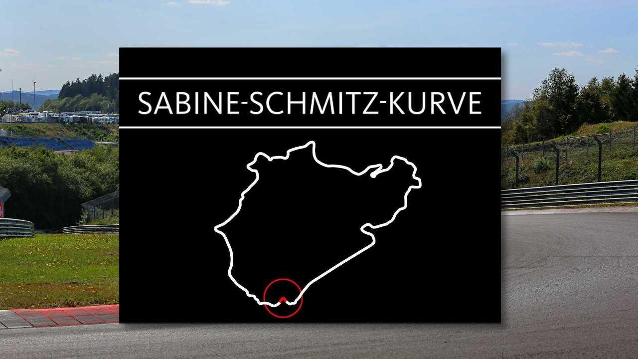 Nürburgring Nordschleife Sabine-Schmitz-Kurve