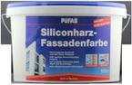 Pufas Siliconharz-Fassadenfarbe 10L weiss, langzeit Filmschutz
