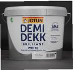 Jotun Demidekk Brilliant White 2,7L weiss, seidenglänzend, Deckfarbe