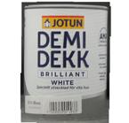 Jotun Demidekk Brilliant White 0,68L , seidenglänzend, Deckfarbe