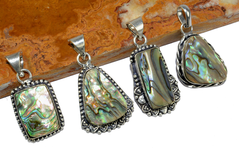 Amazonite /& Mix Gemstone 925 Sterling silver overlay lot Pendants 25 Pcs BNL-214