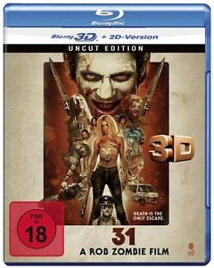 31 (2016) BDRA BluRay Full 3D 2D AVC DTS-HD ITA ENG Sub - DB