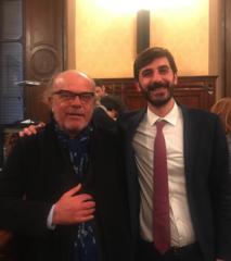 Sergio Calvetti e Alessio Villarosa