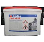 Baufan Streichkalk 5L weiss, Kalkfarbe, Mineralfarbe