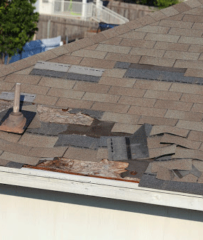 STORM DAMAGE ROOF REPAIR CRYSTAL MN