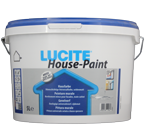 Lucite House Paint weiss 5L, Hausfarbe, Fassadenfarbe