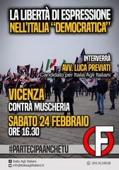 Conferenza elettorale di Italia agli Italiani Forza Nuova