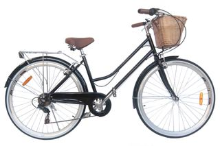 Details about BRAND NEW VINTAGE RETRO LADIES CRUISER BICYCLE / BIKE 6 SPEED  BLACK