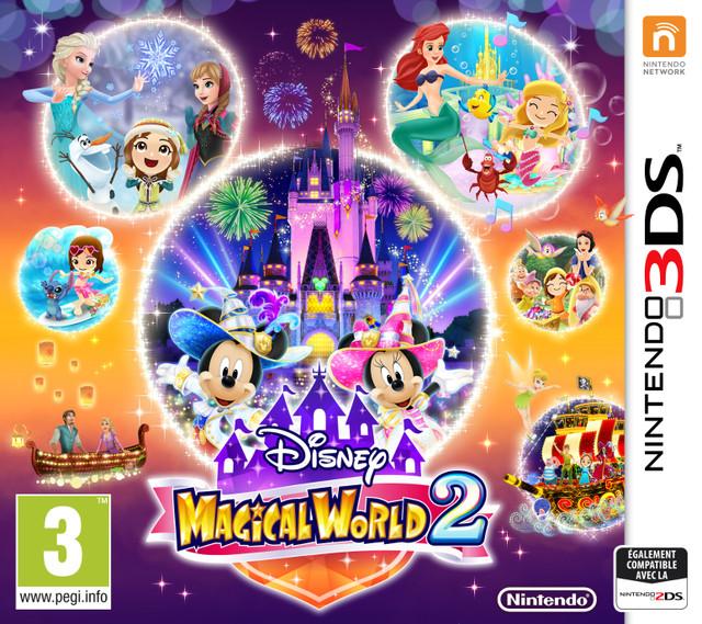 Disney Magical World 2 [CIA]