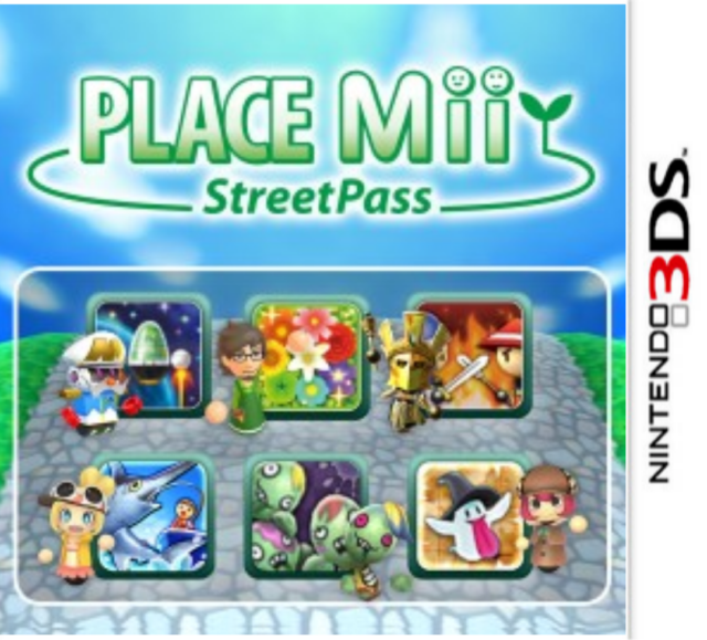 Pack de 6 jeux Place Mii StreetPass