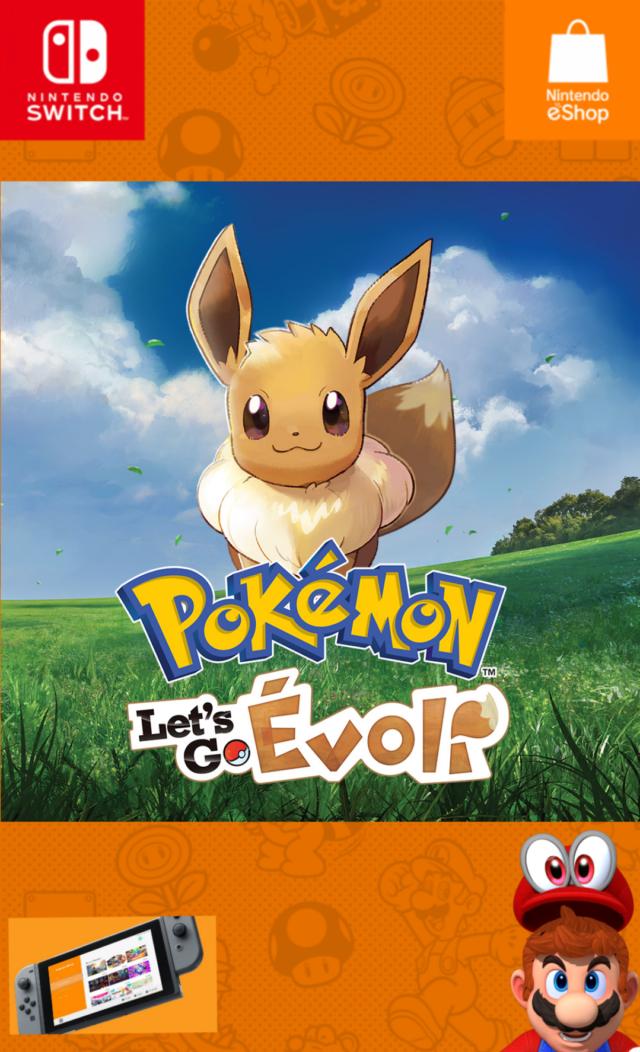 Pokémon Let's Go : Évoli