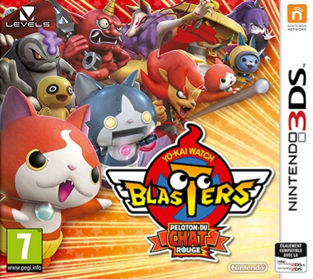 Yo-Kai Watch Blasters : Peloton du Chat Rouge.EUR.3DS