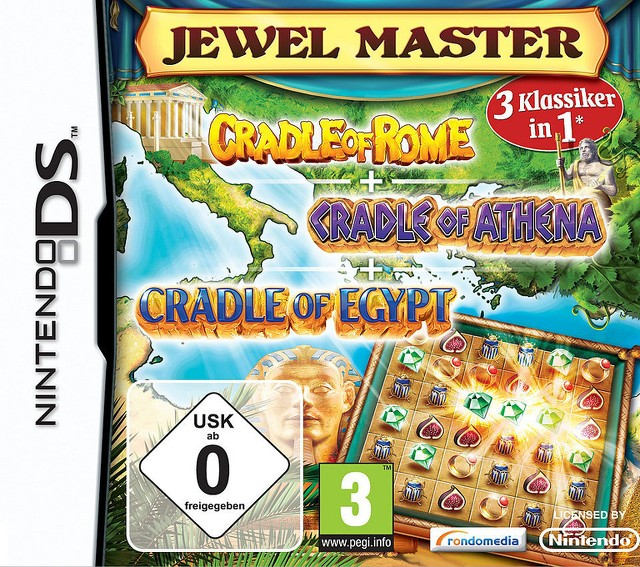 Jewel Master : Cradle of... 3 Pack