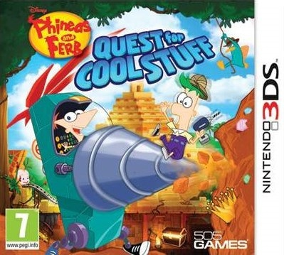 Phineas & Ferb : Quest for Cool Stuff [DECRYPTED]