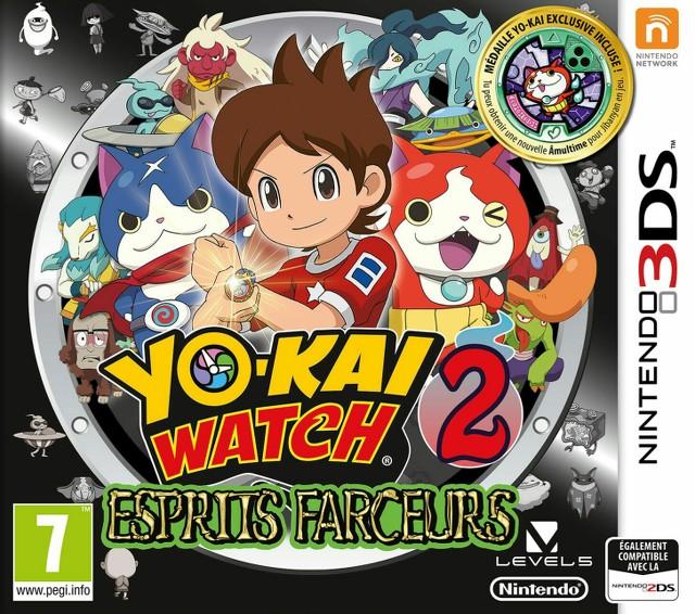 Yo-Kai Watch 2 : Esprits Farceurs [CIA]