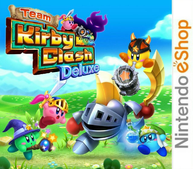 Team Kirby Clash Deluxe [CIA]