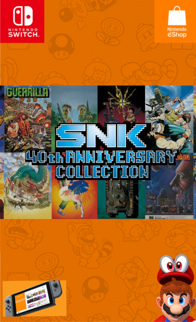 SNK 40th Anniversary Collection [+ UPDATE]