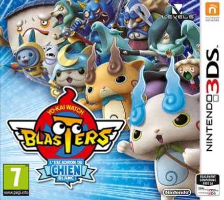Yo-Kai Watch Blasters : L'Escadron du Chien Blanc.EUR.3DS